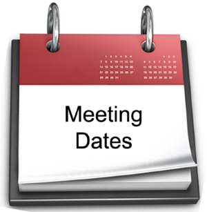 Calendar of Council Meetings